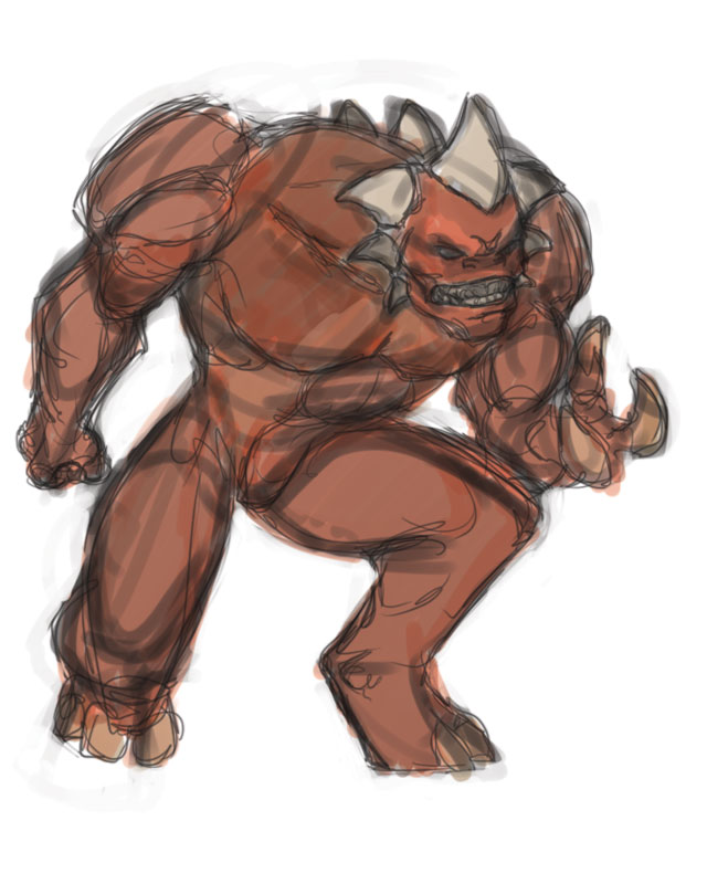 Rough Sketch- Kogar