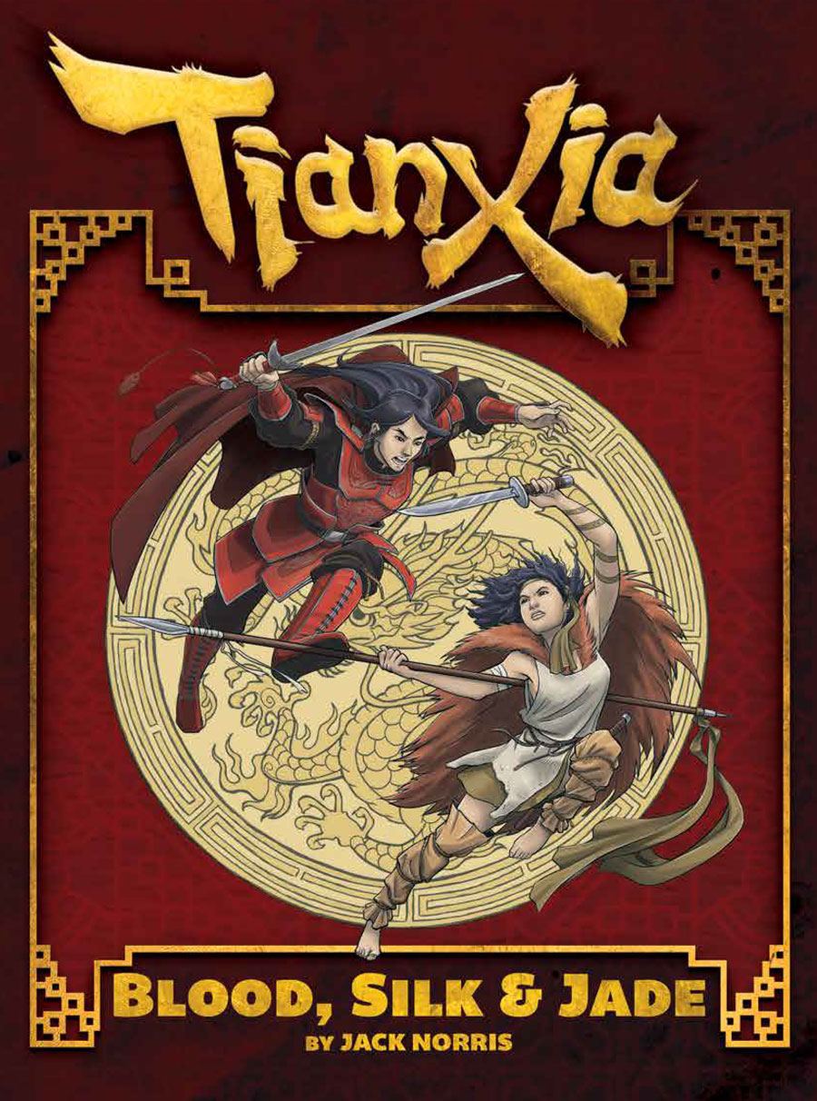 Tianxia: Blood, Silk & Jade Cover