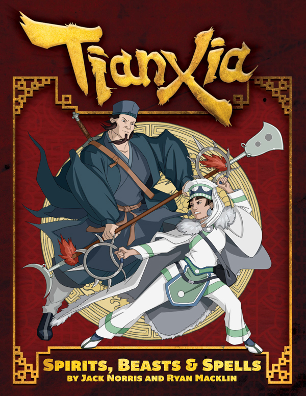 Tianxia: Spirits, Beasts & Spells Cover
